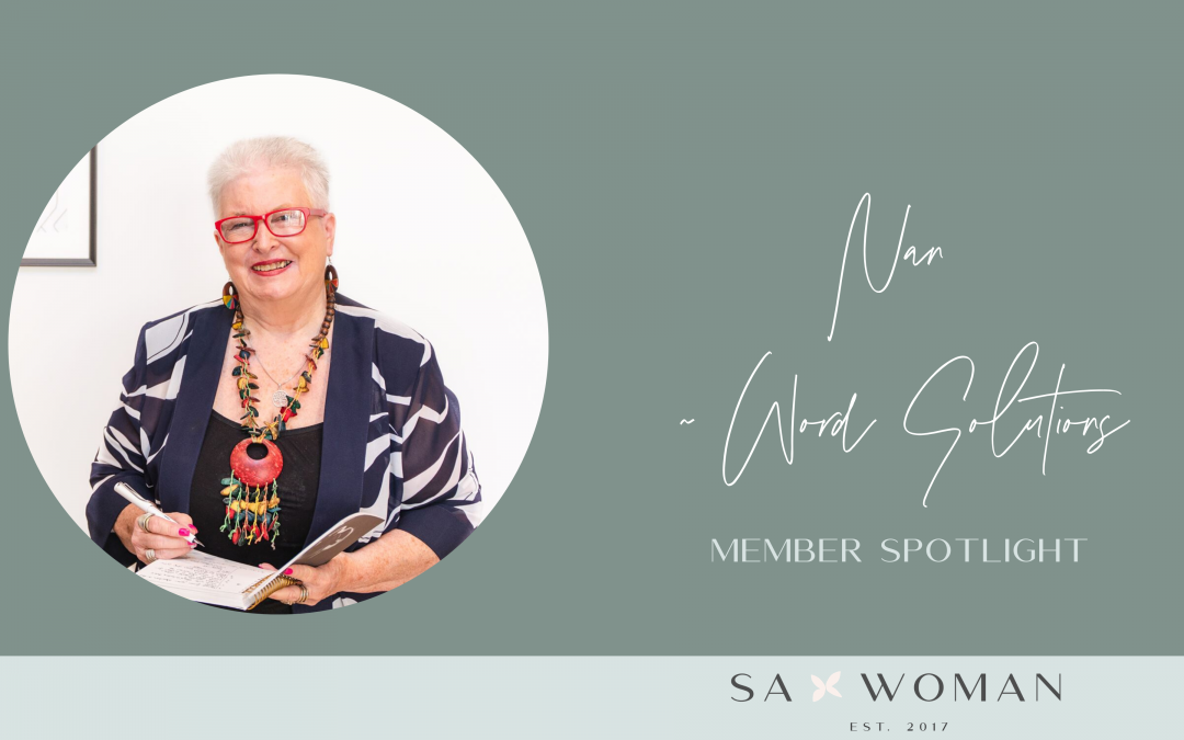 Meet Nan from Word Solutions
