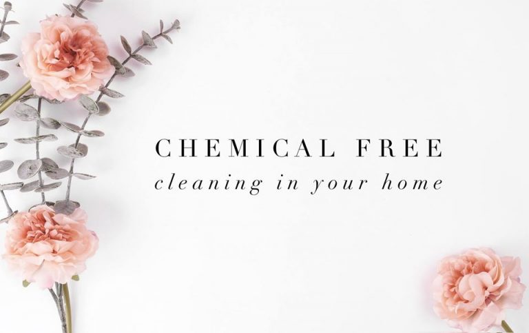 chemical free cleaning 768x483
