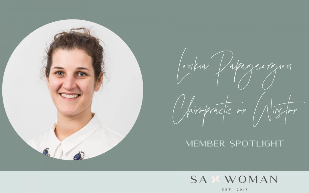 Meet Loukia Papageorgiou from Chiropractic on Winston