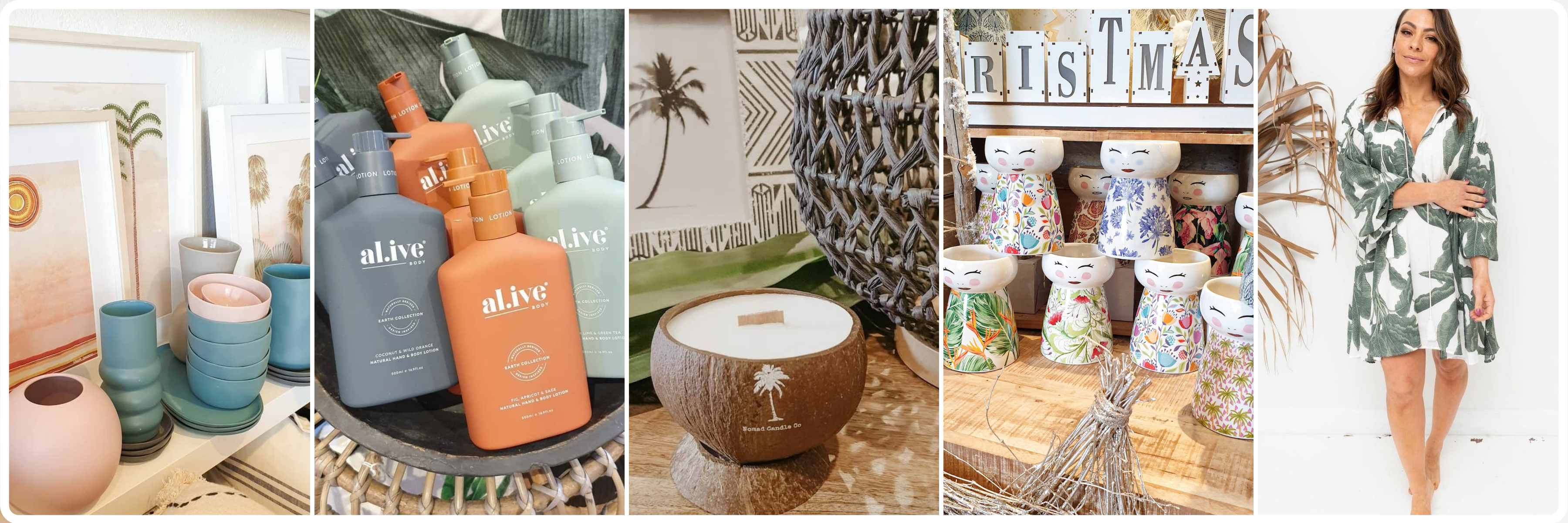 Top 5 Christmas Gifts from Pebble & Palm Interiors