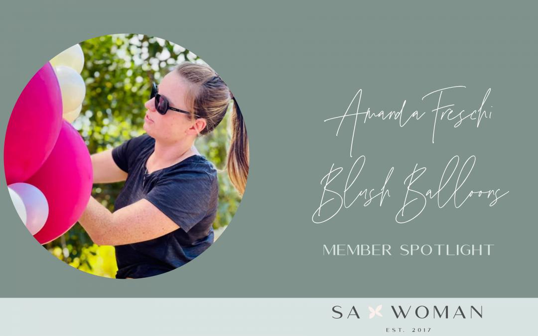 Meet Amanda Freschi from Blush Balloons