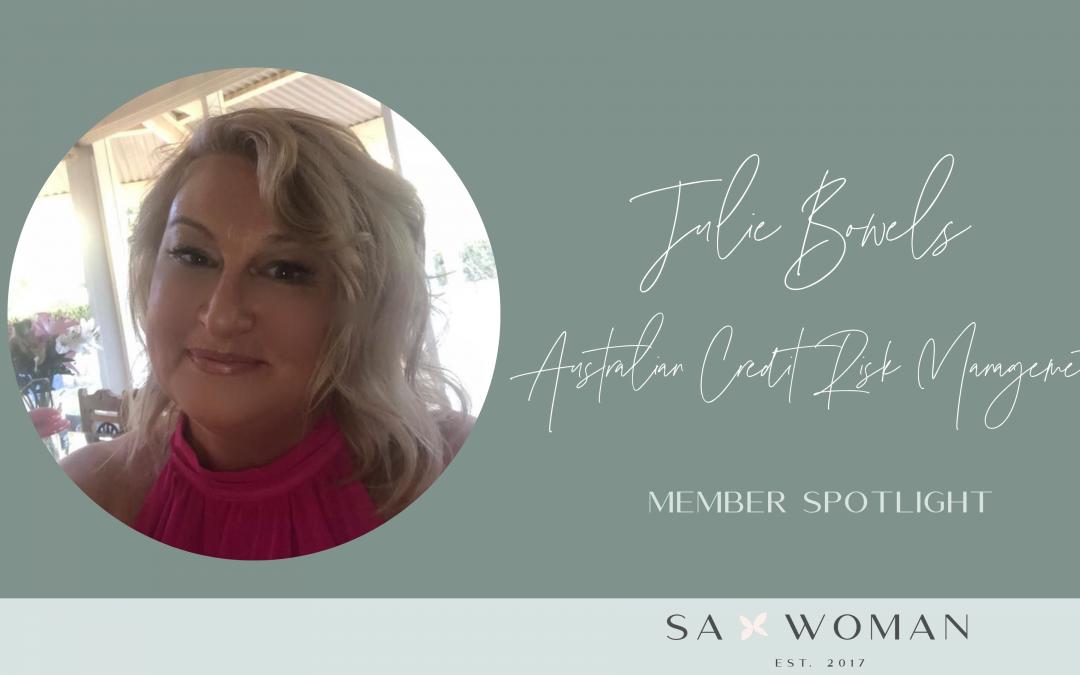 Meet Julie Bowels from Australian Credit Risk Management