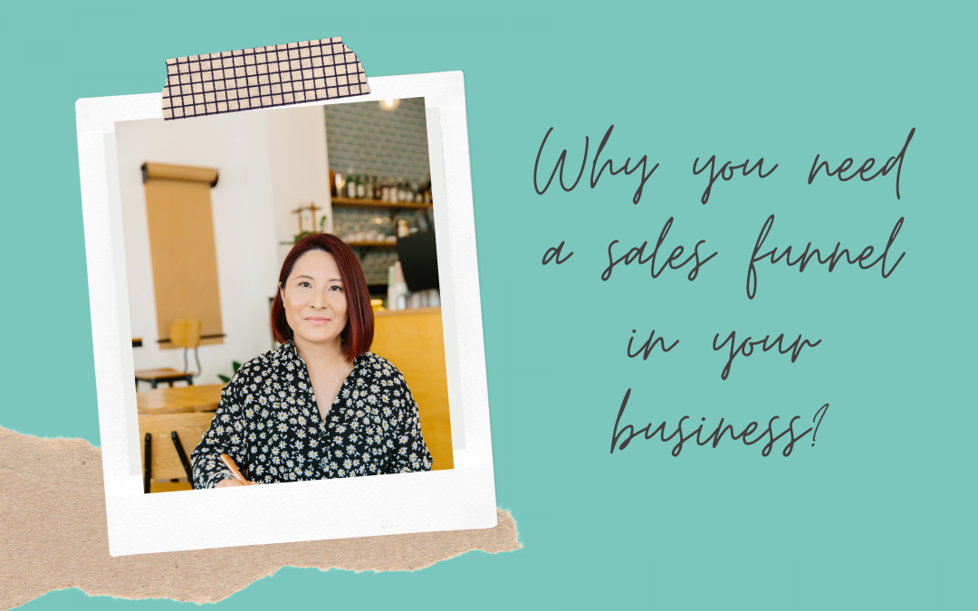 Learn why you need Sales Funnels with Vanesa Choi