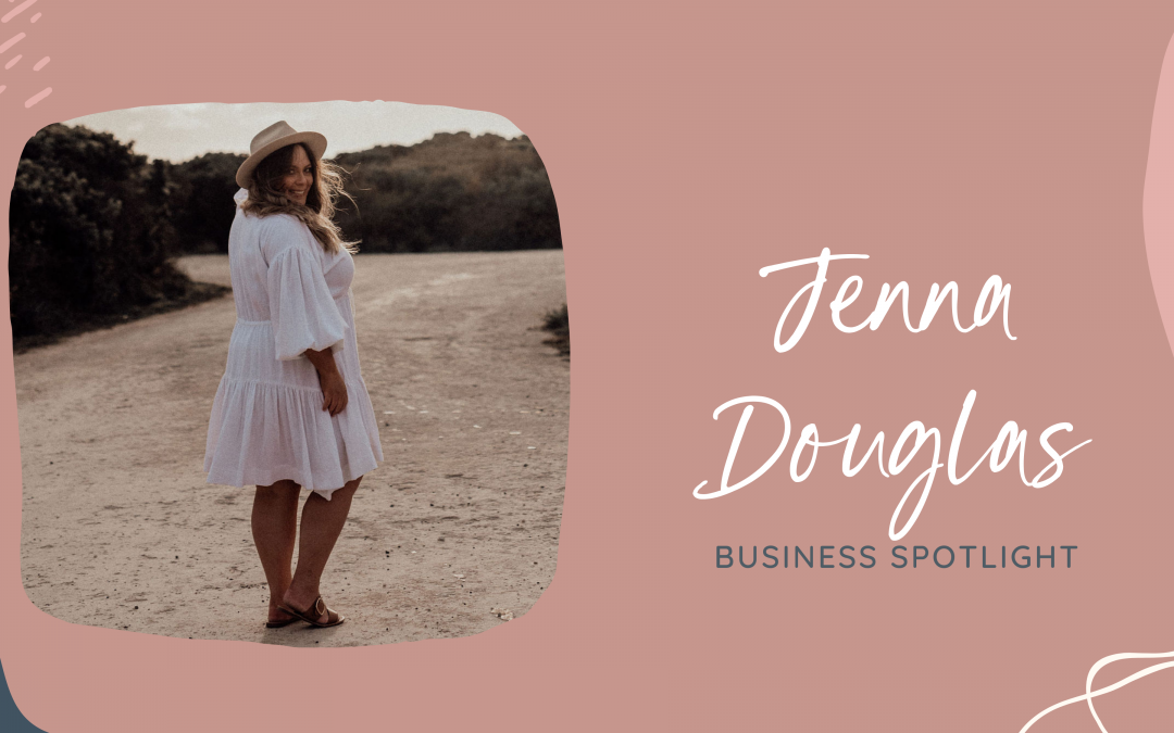 Meet Jenna Douglas - she's standing in our business spotlight!