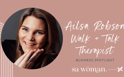 Business Partner of the Month – Ailsa Robson – Walk + Talk Therapist
